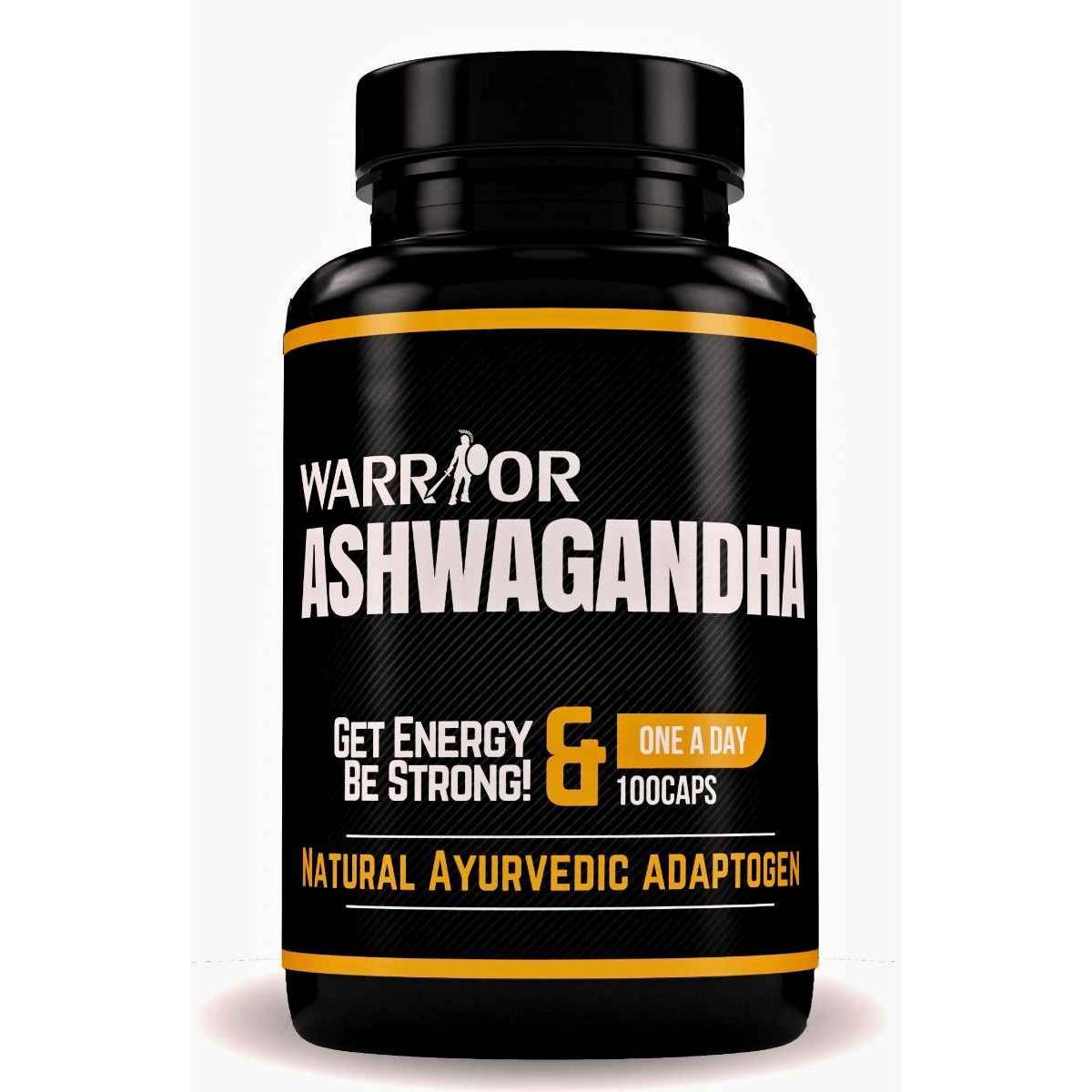 Ashwagandha kapsuly - 100 caps