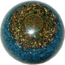 Orgonit - polguľa lapis lazuli strom