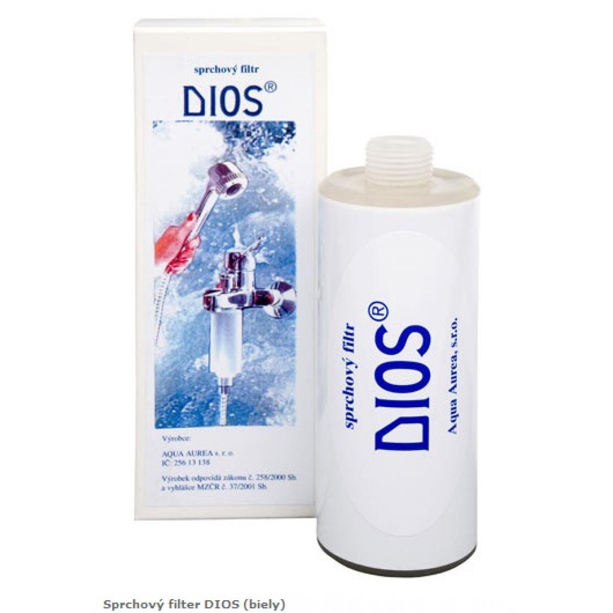 DIOS - sprchový filter biely