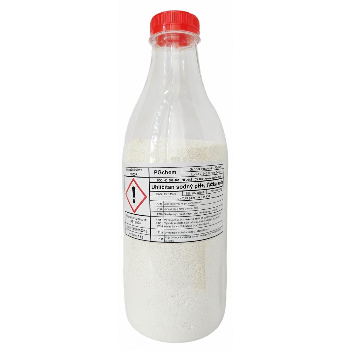 Uhličitan sodný pH+ (plus), ťažká sóda - 1 kg