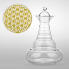 Karafa na vodu Alladin zlatá - 1,3 l
