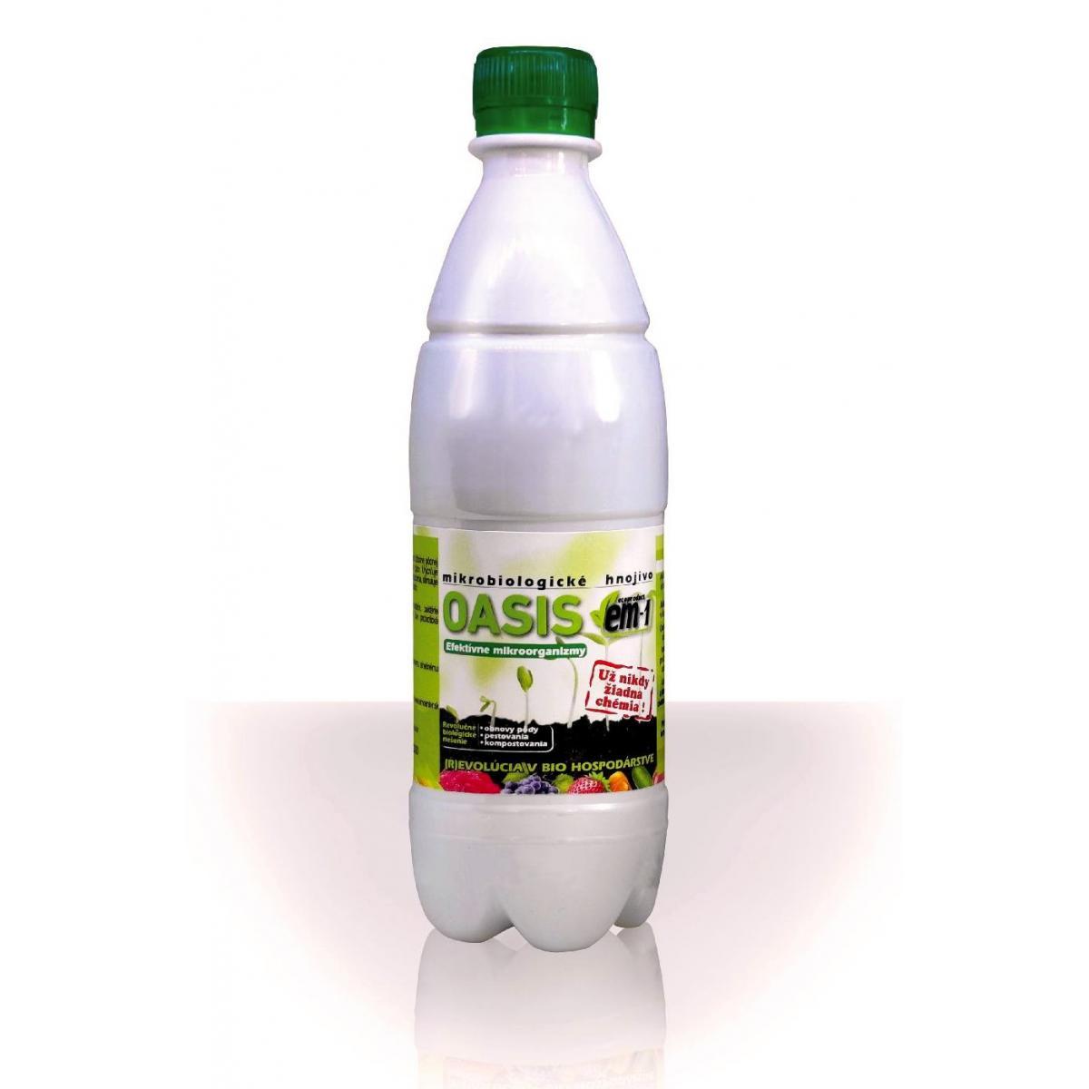 OASIS EM-1 - mikrobiologické hnojivo 500 ml