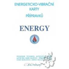 Energeticko vibračné testovacie karty