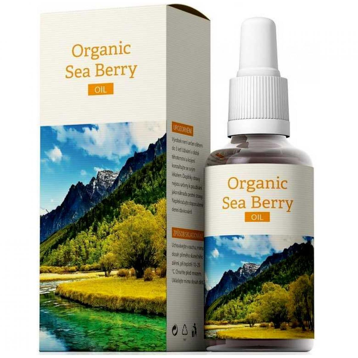 Organic Sea Berry Oil - olej z rakytníka - 30 ml