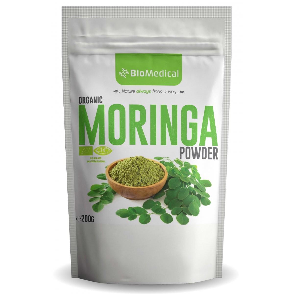 Organic Moringa Powder BIO- 200 g