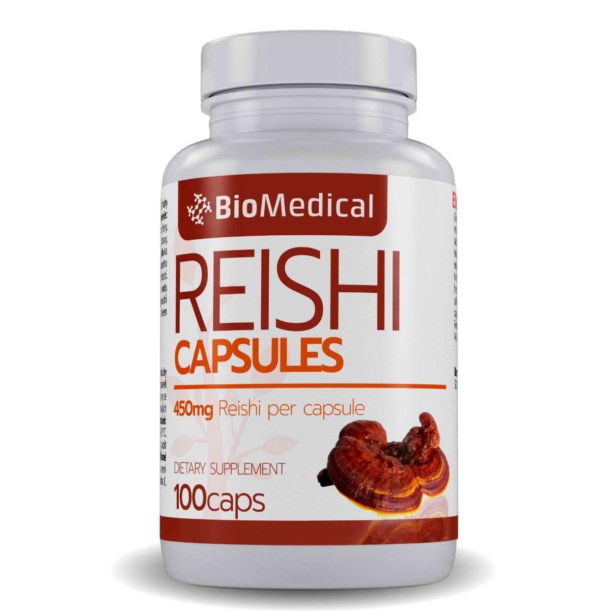 Reishi kapsuly - 100 caps