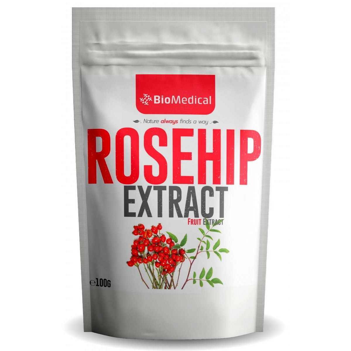 Rosehip Extract - práškový extrakt z plodov ruže šípovej (Rosa Canina) - 100 g