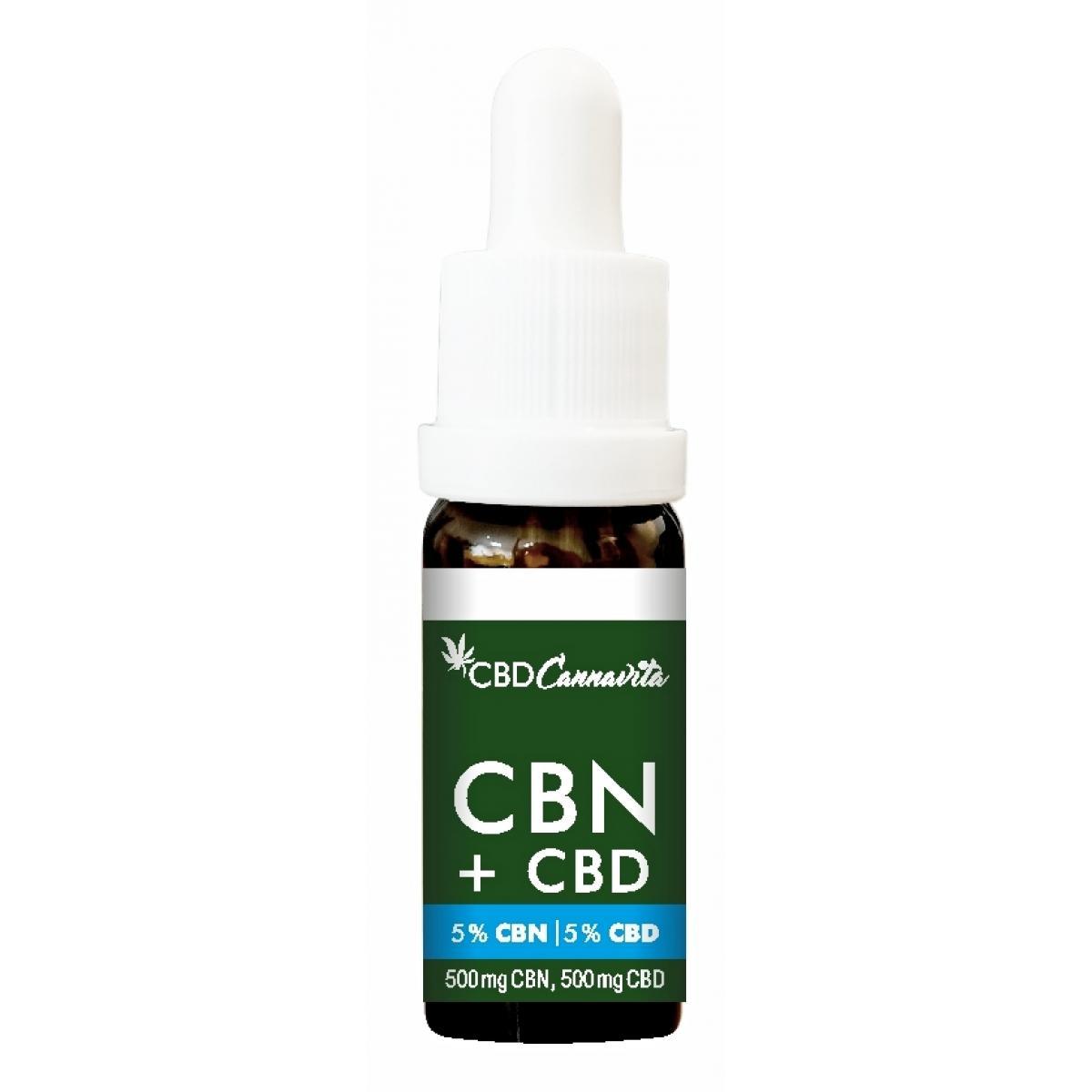 CBN 5% + CBD 5% - 10ml