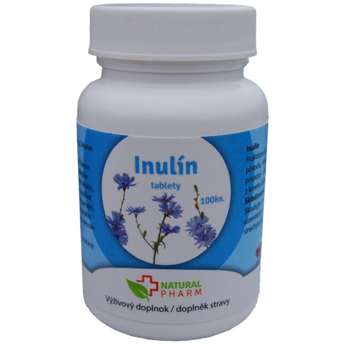 Inulín tablety - 100 ks