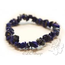 Lapis lazuli - tromlovaný náramok