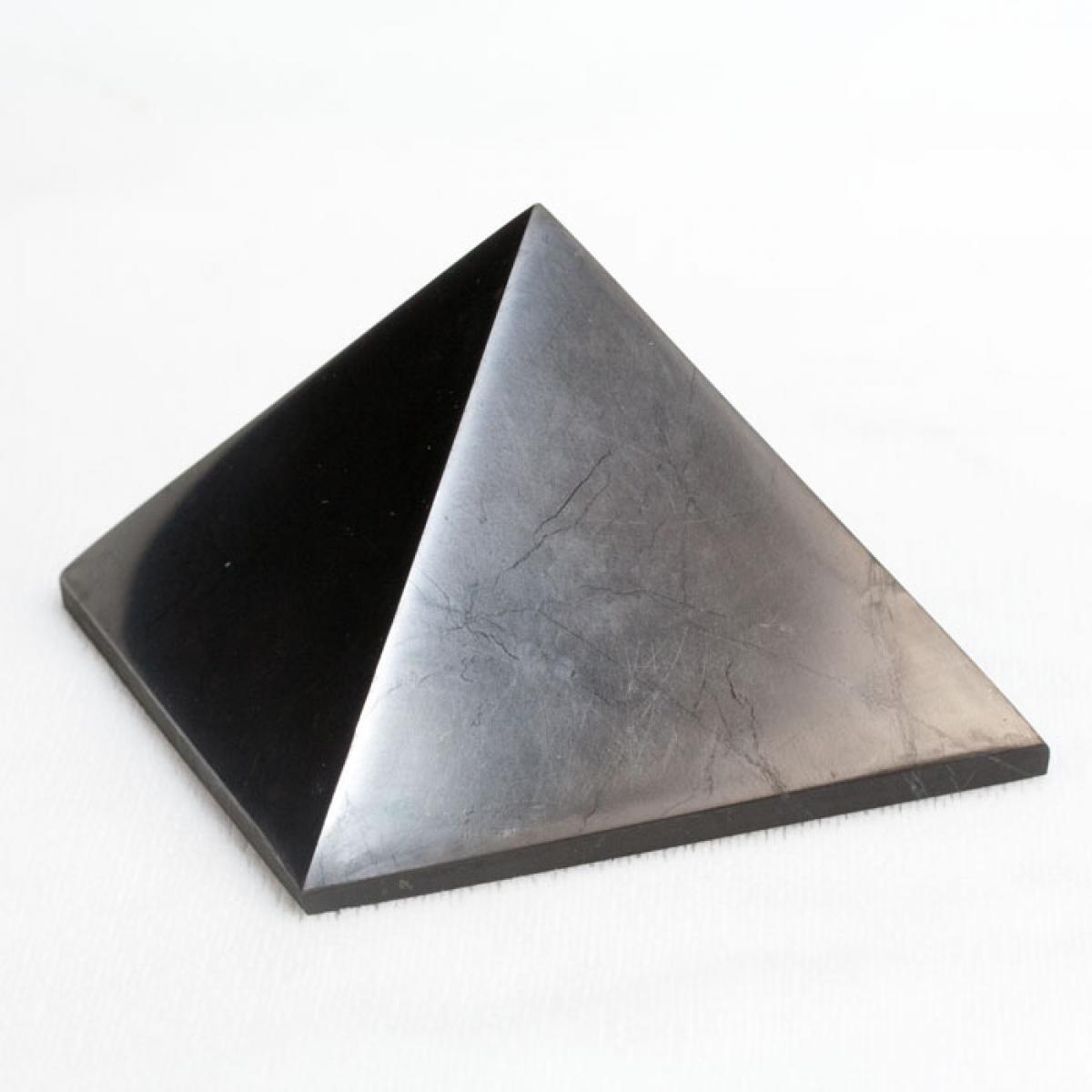 Pyramída Šungit - 3 x 3 cm