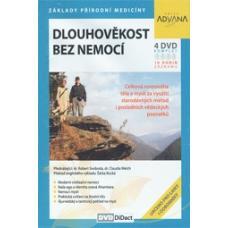 Dlouhověkost bez nemocí - dr. Róbert Svoboda, dr. ClaudiaWelch - 4 DVD komplet