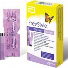FreeStyle Optium Ketone - testovacie prúžky na meranie hladiny ketolátok v krvi