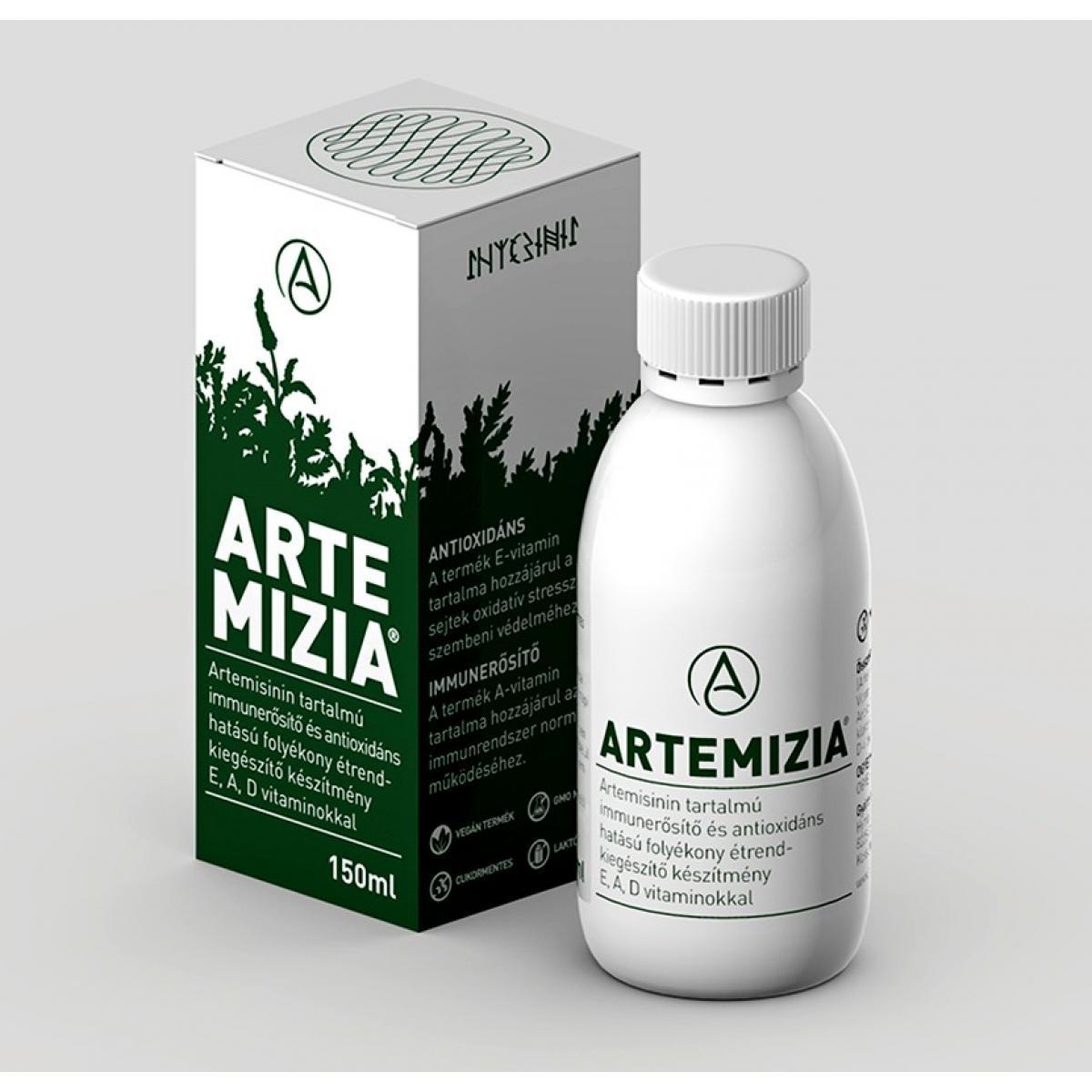 Artemizia® - artemisinín s vitamínmi E, A, D - 150 ml