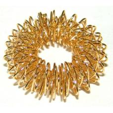 SU-JOK masážny prsteň zlatý