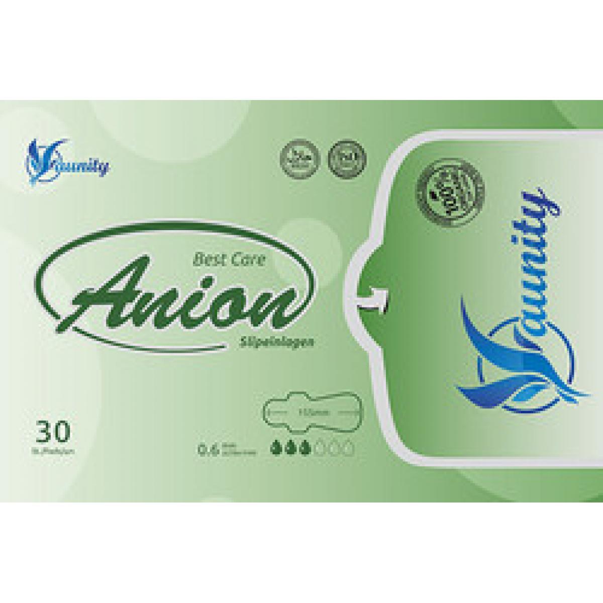 Vložky aniónové slipové s nano striebrom - 30 ks