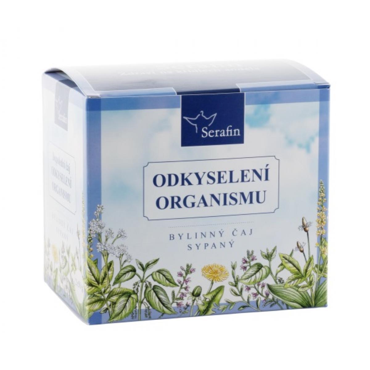 Odkyslenie organizmu - bylinný čaj sypaný - Serafin - 2x50 g