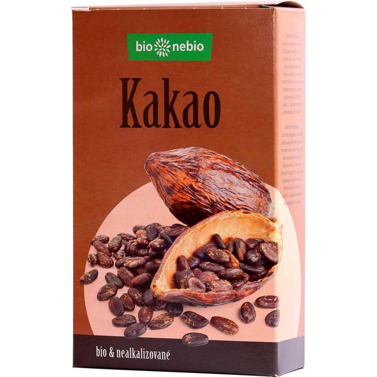 Kakaový prášok Bio so zníženým obsahom tuku - 150 g