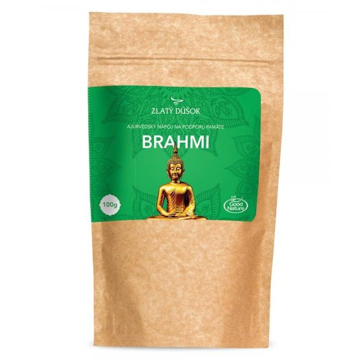 Brahmi - ajurvédsky nápoj na podporu pamäte - Zlatý dúšok - 100 g