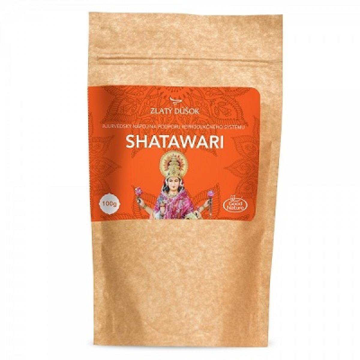 Shatawari - ajurvédsky nápoj - Zlatý dúšok - 100 g