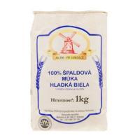 Múka Špaldová  hladká biela 100% - 1 kg