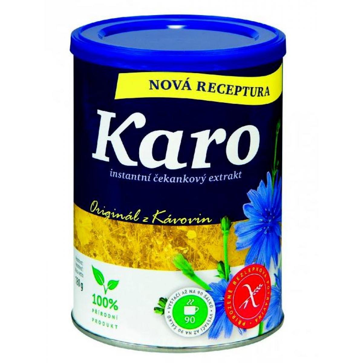 Karo - instantná kávovina (Čakanka obyčajná - koreň) dóza - 180 g