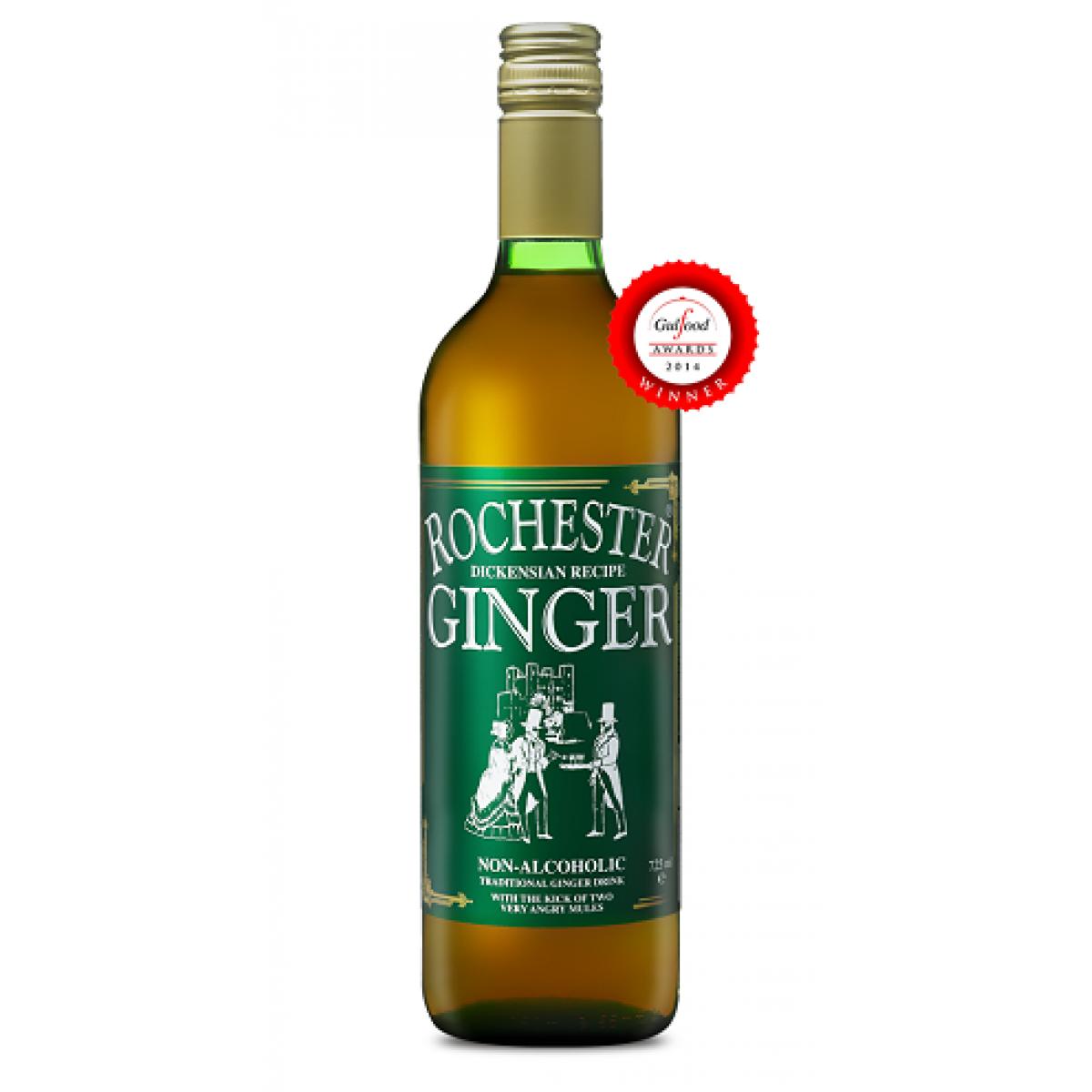 Nápoj zo zázvoru nealkoholický Rochester Ginger - 725 ml