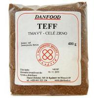 Teff tmavý - celé zrno - 400 g