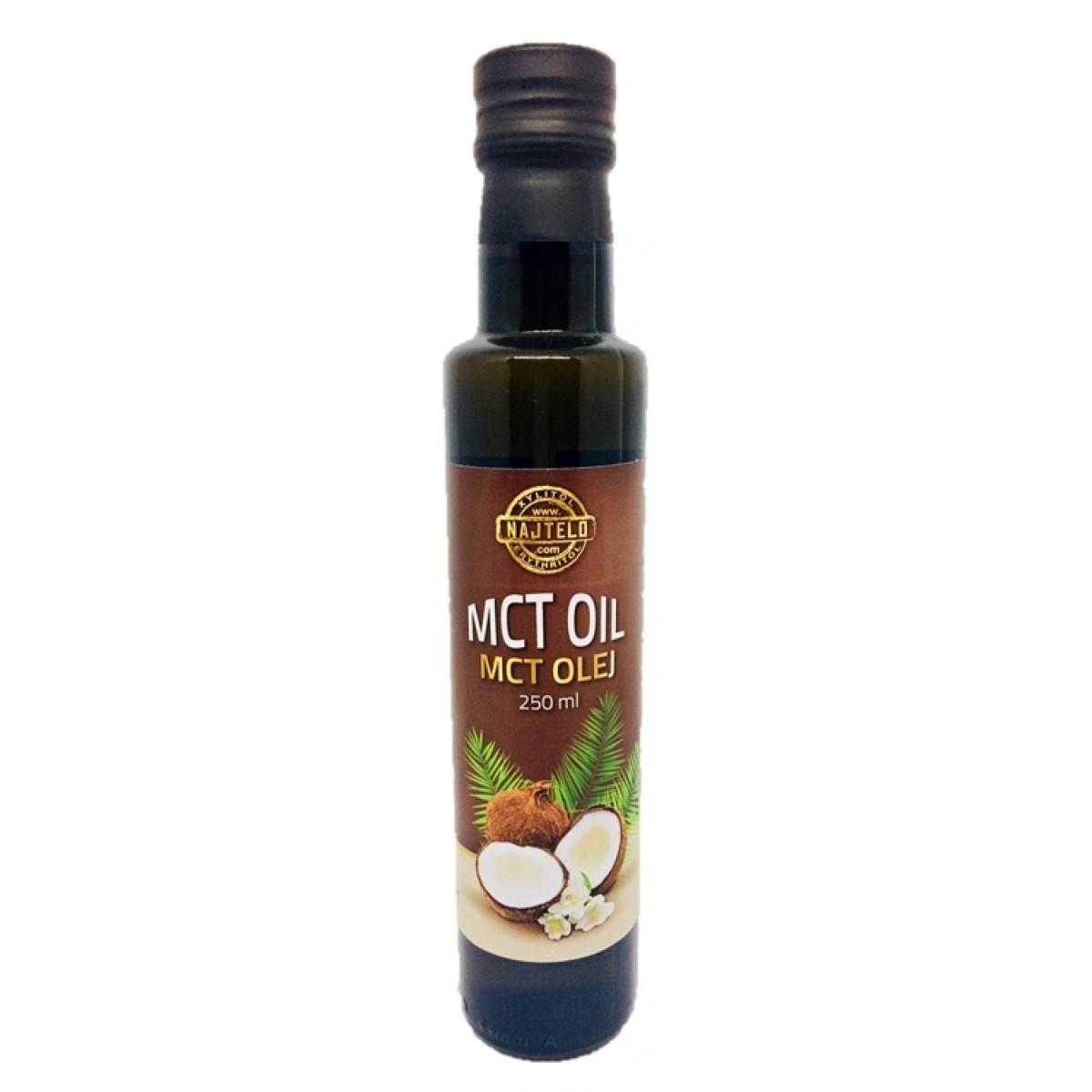 MCT OLEJ 100% - 250 ml