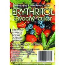 Erythritol - ovocný cukor - bezlaktózový a bezlepkový cukor - 1 kg