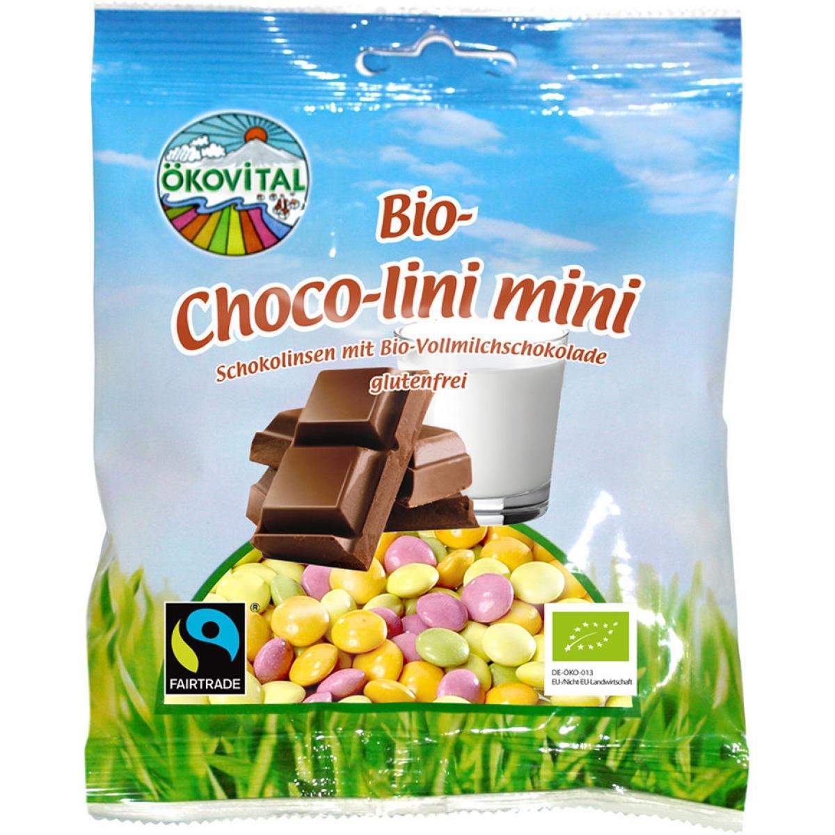 Čokoládové dražé BIO -  ÖKOVITAL -100 g