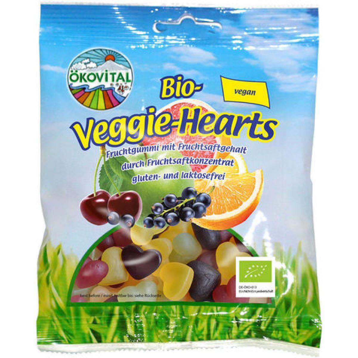 Želé srdiečka BIO vegan - 100 g